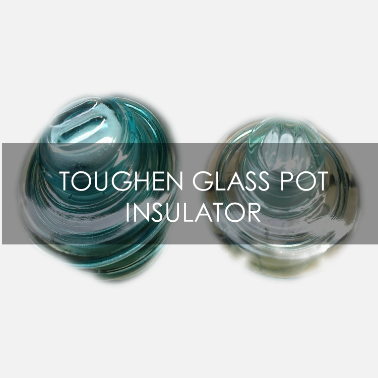 buy toughen glass pot insulator in lagos nigeria